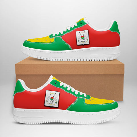 Image of Burkina Faso Sneakers - Like Air Force 1 (Women/Men) | Fast Shipping | High Quality