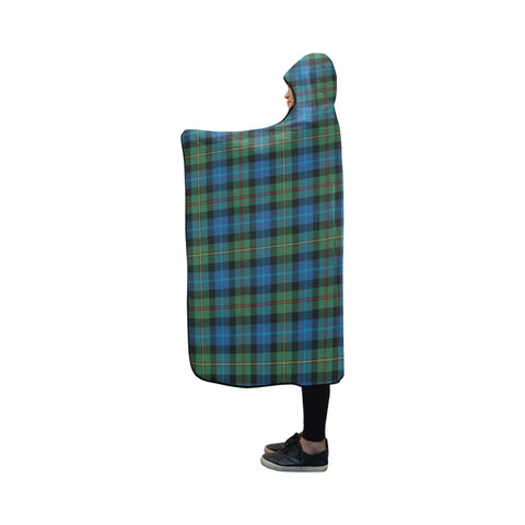 Smith Ancient Tartan Hooded Blanket - BN
