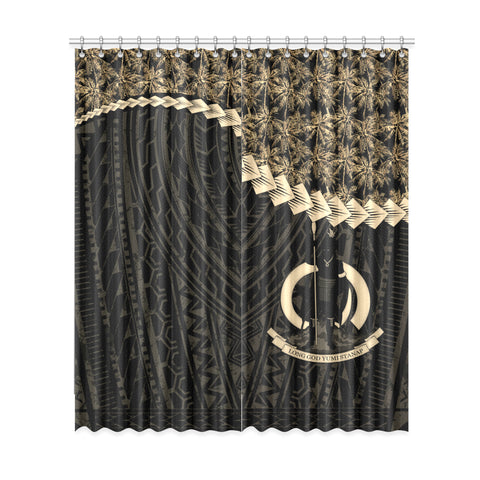 Vanuatu Window Curtain Coconut Golden | Home Decor | 1sttheworld