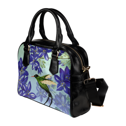 Jamaica Shoulder Handbag - Women Handbag - Handbag for women - Jamaican Doctor Bird - Lignum Vitae