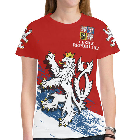 Czech Republic Lion Special T-Shirt A7
