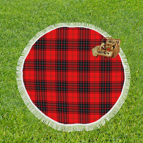 WEMYSS MODERN TARTAN BEACH BLANKET th8