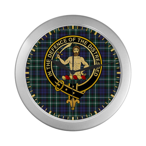 ALLARDICE CLAN TARTAN WALL CLOCK A9