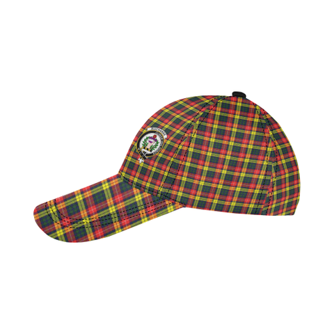 Buchanan Modern Clan Badge Tartan Dad Cap - BN03