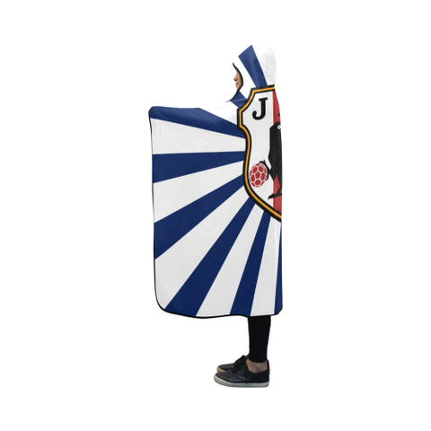 Japan World Cup Hooded Blanket - Bn03 | Love The World