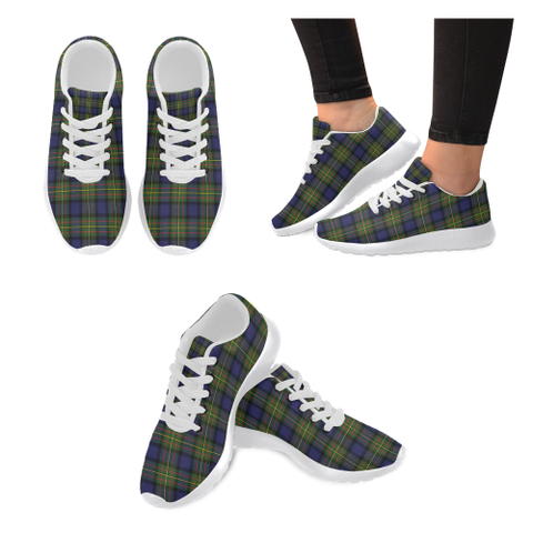 Image of Maclaren Modern Tartan Shoes/ Tartan Sneakers HJ4
