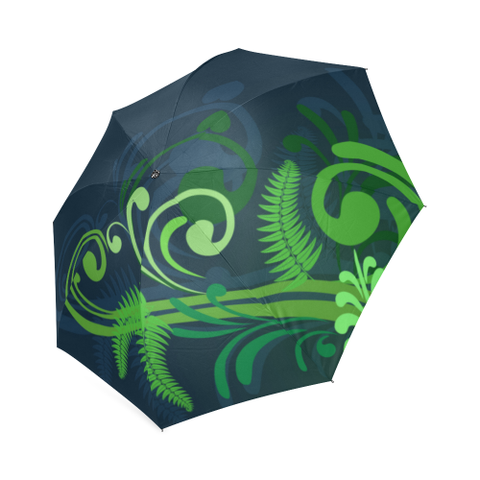 New Zealand Fern Foldable Umbrella A9 |Accessories| 1sttheworld