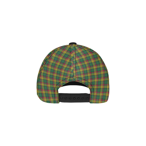 Image of MacMillan Old Ancient Clan Badge Tartan Dad Cap - BN04