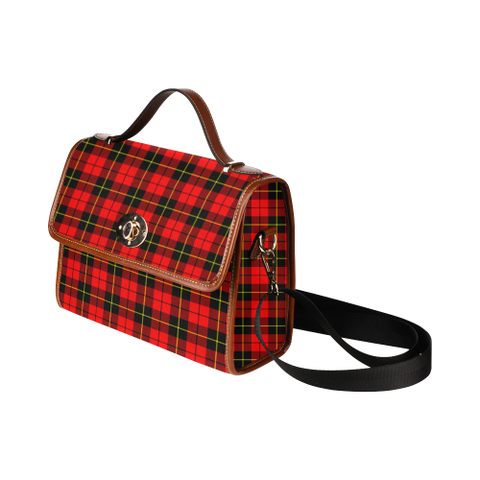 Wallace Hunting - Red Tartan Plaid Canvas Bag | Online Shopping Scottish Tartans Plaid Handbags
