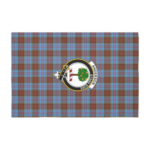 Anderson Crest Tartan Tablecloth | Home Decor