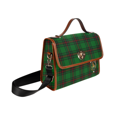 Tartan Canvas Bag - Beveridge Clan | Waterproof Bag | Scottish Bag