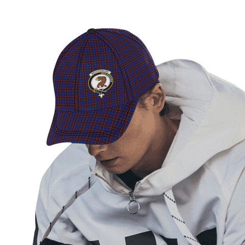 Image of Wedderburn (Home Modern) Clan Badge Tartan Dad Cap - BN04