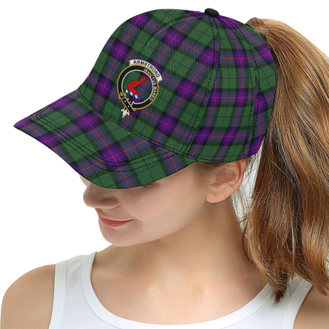 Image of Armstrong Modern Tartan Hat - All Over Print Snapback Hat | 1sttheworld.com