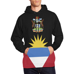 Antigua and Barbuda Hoodie - Flag And Coat Of Arms - BN07