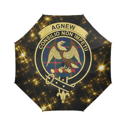 Agnew Tartan Umbrella Golden Star TH8