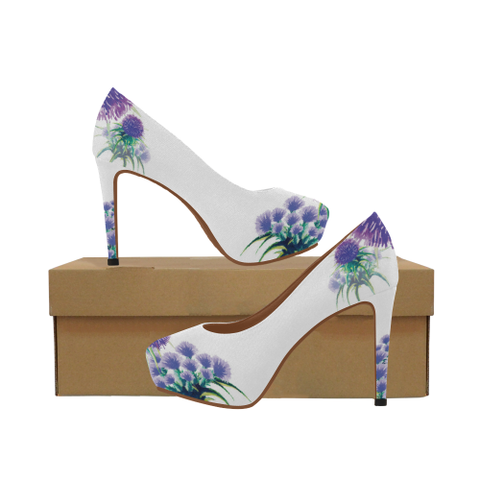 Image of Scotland High Heel Pumps  - Thistle A2