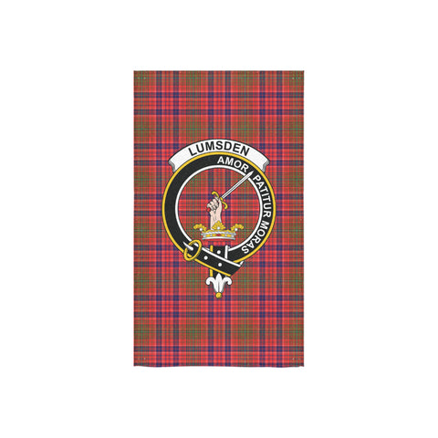 Lumsden Modern Tartan Towel Clan Badge NN5