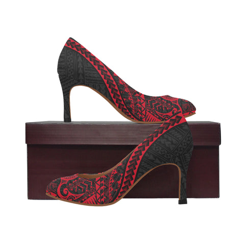 Polynesian 1st High Heels (Red) A6 |Footwear| 1sttheworld