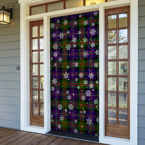 Image of Cameron of Erracht Modern Christmas Tartan Door Sock Cover