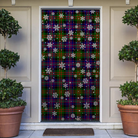 Cameron of Erracht Modern Christmas Tartan Door Sock Cover