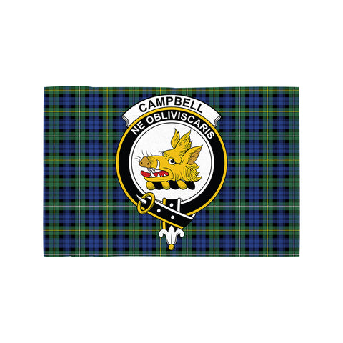 Campbell Argyll Ancient Clan Crest Tartan Motorcycle Flag