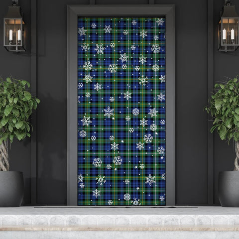 Image of Campbell Argyll Ancient Christmas Tartan Door Sock Cover