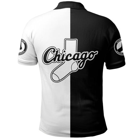 Chicago Baseball Polo Shirt K5