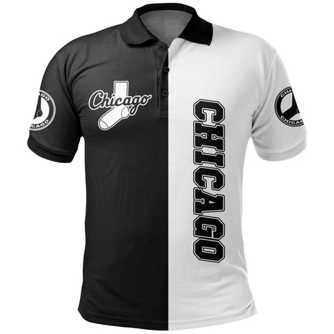 Image of Chicago Baseball Polo Shirt K5