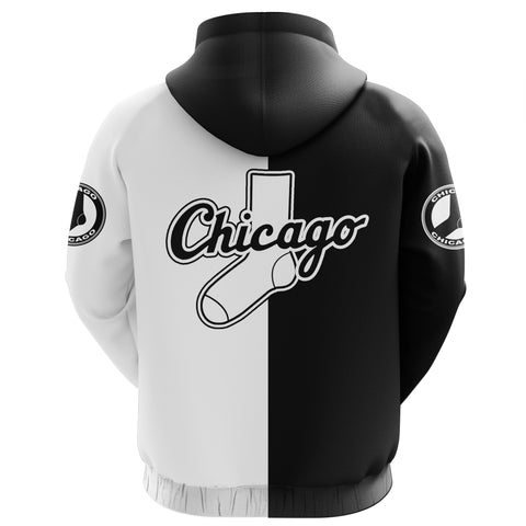 Image of Chicago Baseball Zip Hoodie K5