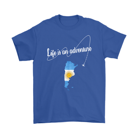 Argentina Life is An Adventure T-shirt