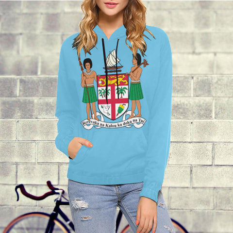 Coat Of Arm Of Fiji Hoodie - BN04