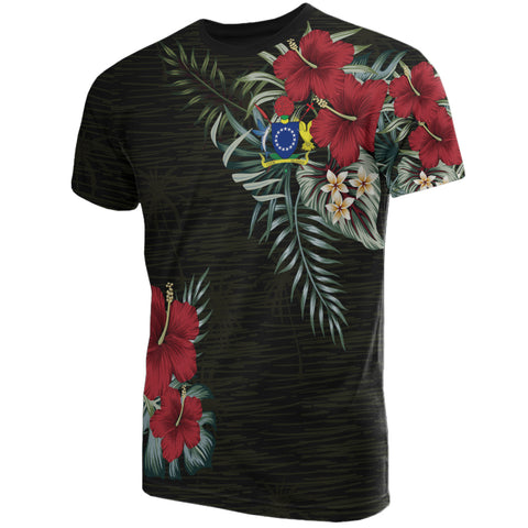 Cook Island Hibiscus T-Shirt A7