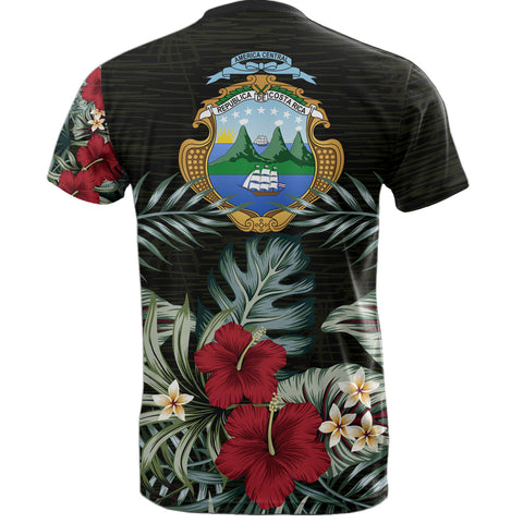 Image of Costa Rica Hibiscus T-Shirt A7