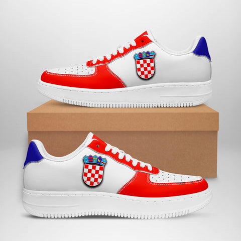 Image of Croatia Sneakers - Like Air Force 1 (Women/Men) | Fast Shipping | High Quality