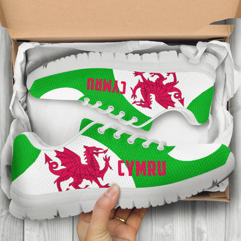 Welsh Dragon Sneakers - Cullinan Style