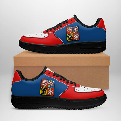 Image of Czech Republic Sneakers - Like Air Force 1 (Women/Men) | Fast Shipping | High Quality