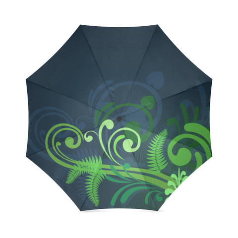 Image of New Zealand Fern Foldable Umbrella A9 |Accessories| 1sttheworld