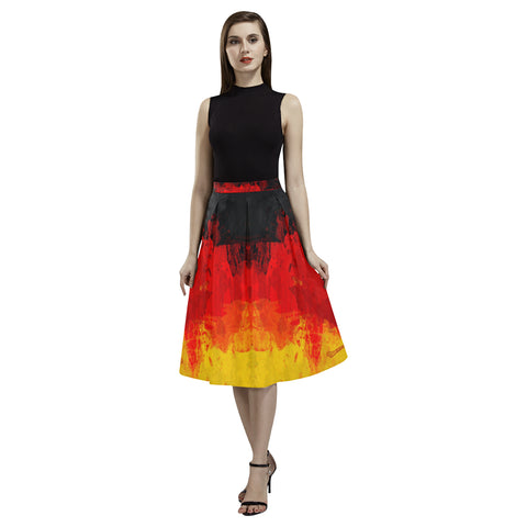 GERMANY FLAG AOEDE CREPE SKIRT A1