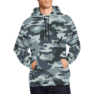 Camo Hoodie - Black And White Version - BN07