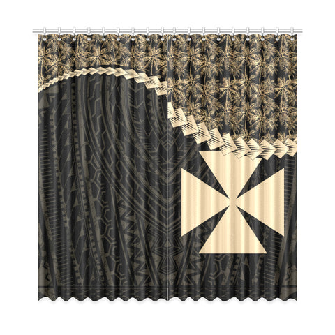 Wallis and Futuna Window Curtain Coconut Golden | Home Decor | 1sttheworld