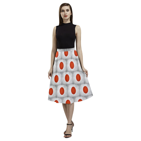 JAPAN FLAG AOEDE CREPE SKIRT A1