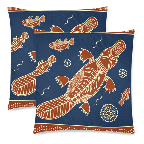 Image of Aboriginal Platypus Pillow Covers NN6