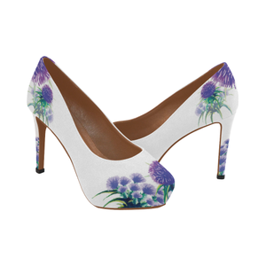 Scotland High Heel Pumps  - Thistle A2
