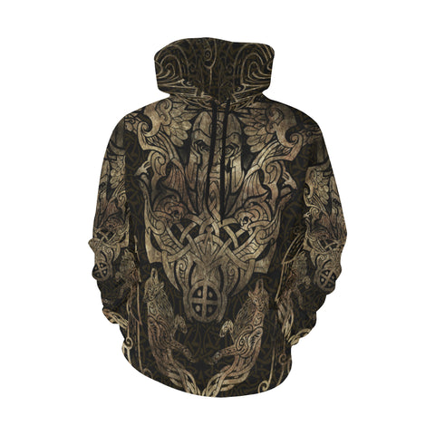 Viking Hoodie Odin Tattoo Th5