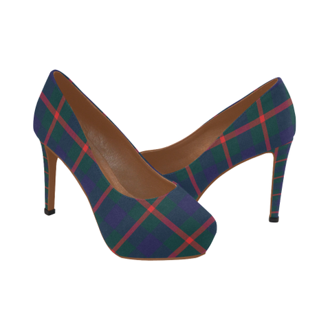 Agnew Modern Tartan Heels - Women's Tartan High Heels Th8 |Footwear| 1sttheworld
