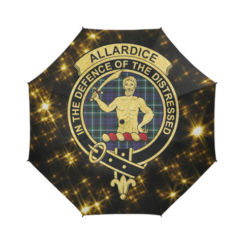 Allardice Tartan Umbrella Golden Star TH8