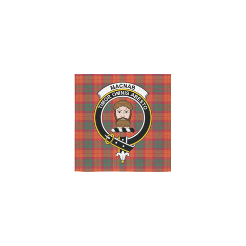 MacNab Ancient Tartan Towel Clan Badge | 1sttheworld.com