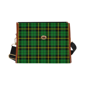 Wallace Hunting - Green Canvas Handbag
