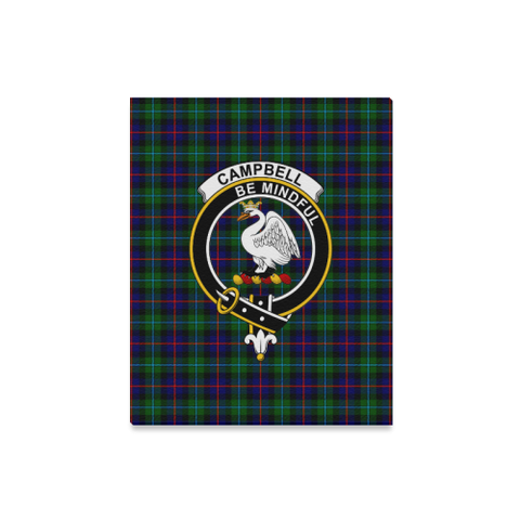 Tartan Canvas Print - Campbell (Of Cawdor) Clan | Over 300 Scottish Clans and 500 Tartans