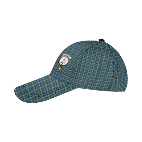 Lamont Ancient Clan Badge Tartan Dad Cap - BN03